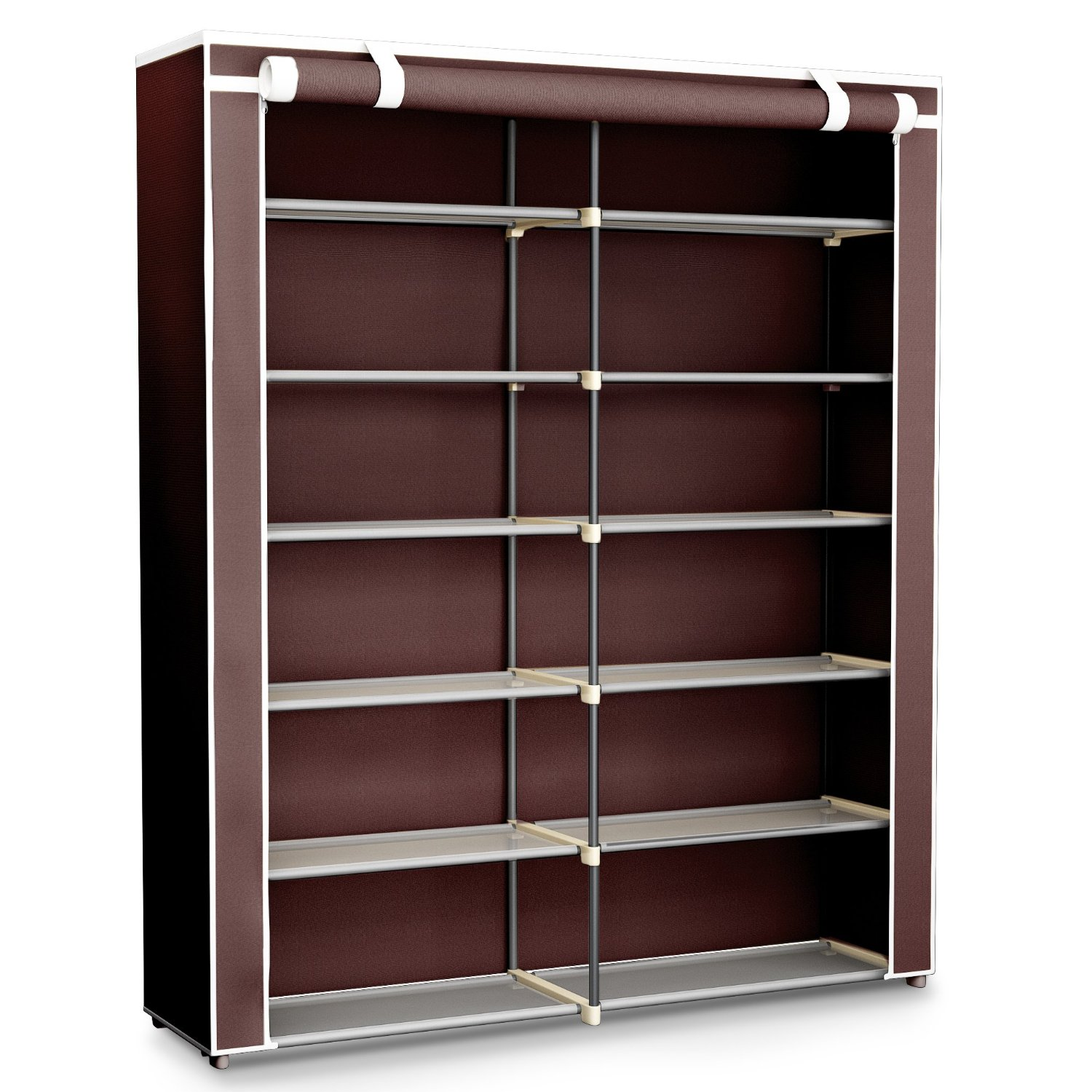 Get Quotations · 36 Pairs Shoe Rack Organizer Storage Bench   Organize Your Closet  Cabinet Or Entryway   Easy