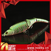 NOEBY 3 sections segmented minnow fishing hard lure bait