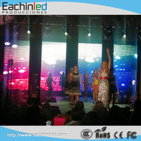 P3 indoor LED Advertising Screen with long lifespan and high resolution move for stage use