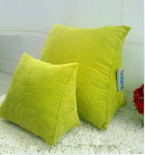 Triangular Pillow Car Seat Cushions For Back Pain