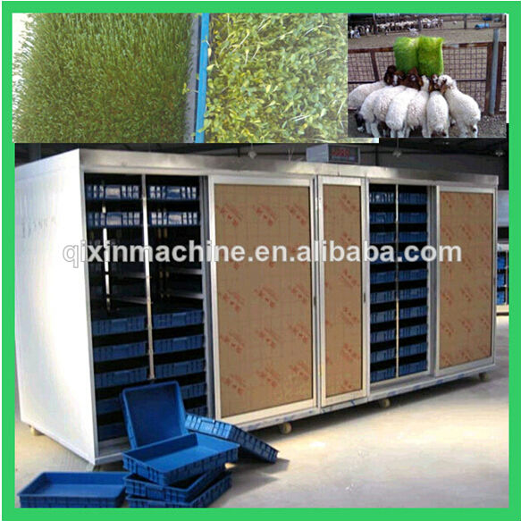 high efficiency wheat grass growing machine