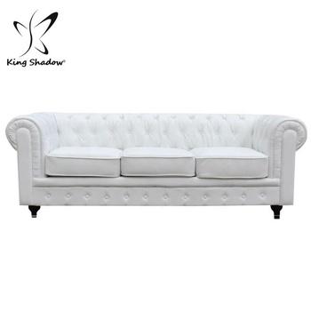 White Waiting Sofa Hair Salon Chairs Beauty Reception