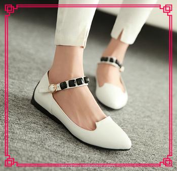 New Designer Flat Heels Shoes Women Pu Shose 2015 Medical Nurse ...