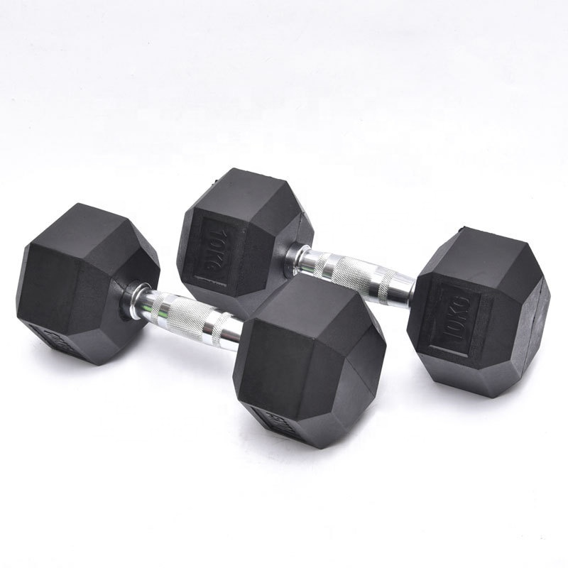Stainless Steel Khusus Berat Inflatable 10Kg Execrise Gym Dumbbell