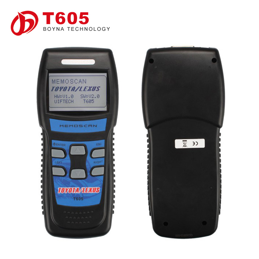 2015 New Arrival Diagnostic Scanner OBD2 T605 CAN BUS Tool For TOYOTA Best Price