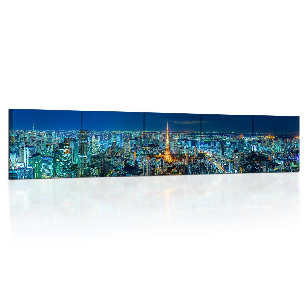 Canvas Art Picture Print Decorative Photo Tokyo skyline Japan Night Cityscape