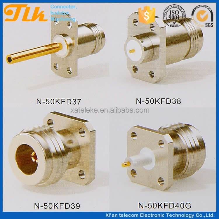 Interchangeable with the same-type series N RF coaxial connectors of abroad