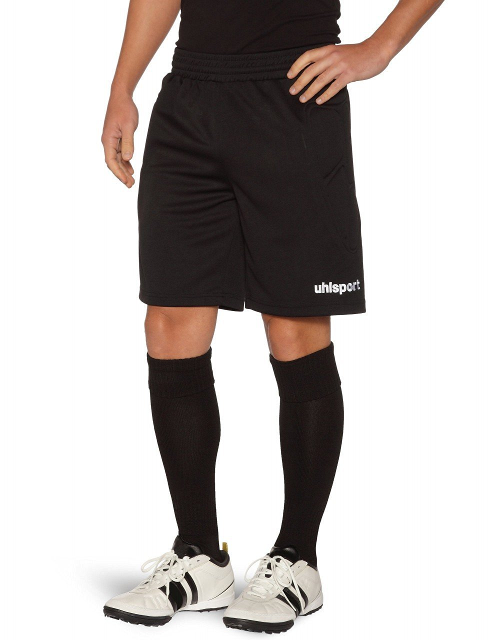b82903011 Get Quotations · Uhlsport Mens Sidestep Goalkeeper Shorts