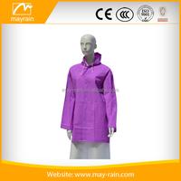 Stronger Durable Comfortable womens rain jacket and coat
