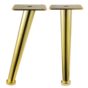 best price golden prefect surface metal sofa legs gold metal furniture leg with floor protector sofa chair cabinet feet