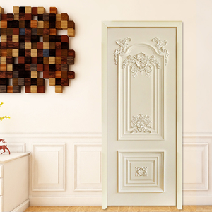 CBM Mart top curved fancy interior wooden door