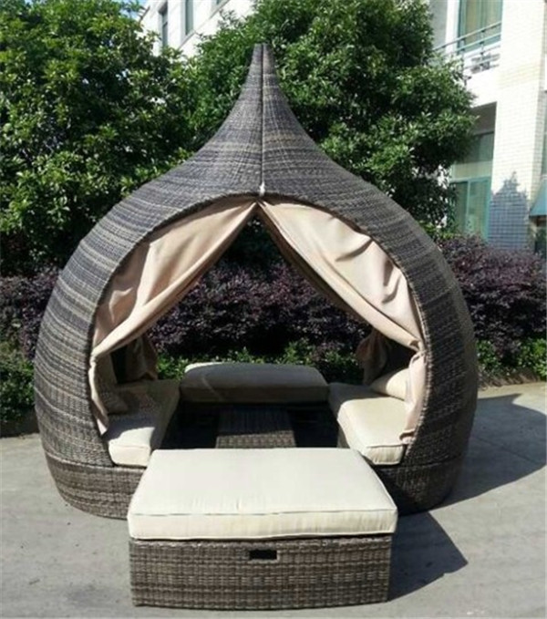 Rattan Daybed Outdoor Furniture