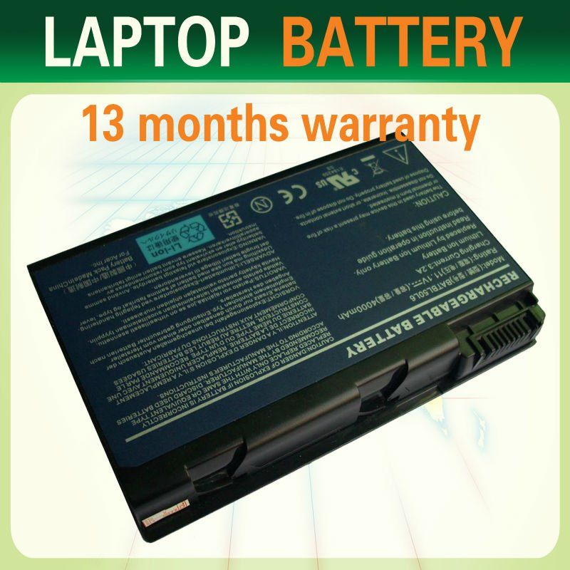 Laptop Battery For Acer Aspire 3100 5100 Batbl50l6 Batcl50l6 Lc.btp01.017 Batbl50l8h Batbl50l4 batterija notebook