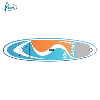 Multi-color security inflatable stand up surf sup paddle board deck pad surfing with high quality in cheap prize