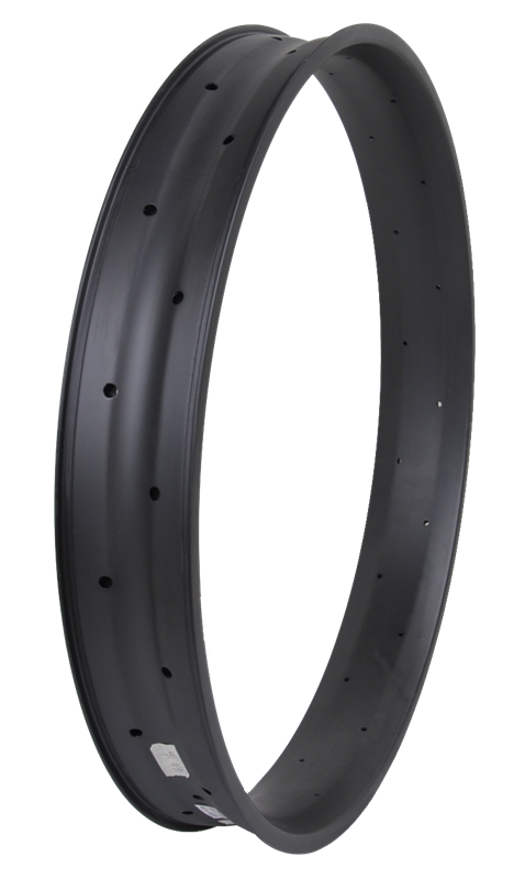 "Baolijia High End 80mm Wide 26"" Carbon Fat Bike Rims"