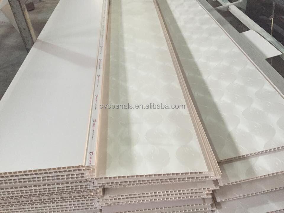 2015 New Modern House Design Decorative Pvc Ceiling Panel