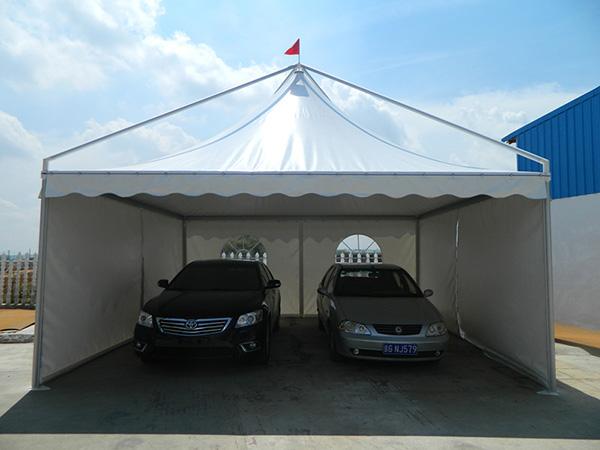 Parcheggio tenda gazebo tenda per auto parcheggio tenda for Gazebo professionale usato
