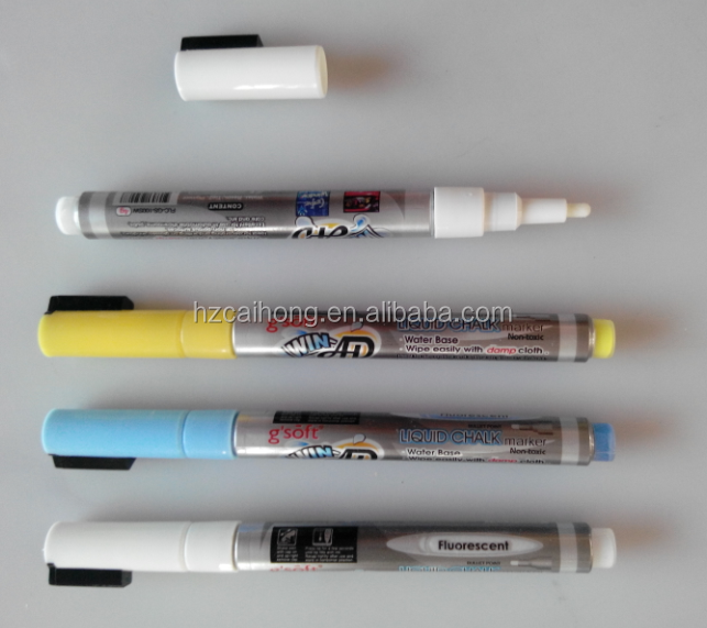 window pen, erasable popart marker empty chalk marker 3mm nib liquid chalk marker white CH-3200