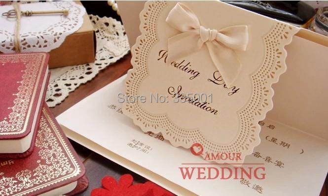 Wedding Invitation Card Paper: Wedding Invitation Card Customised Printing Luxury