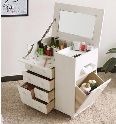 Sala muebles caj n multi organizador de maquillaje de for Muebles organizadores para living