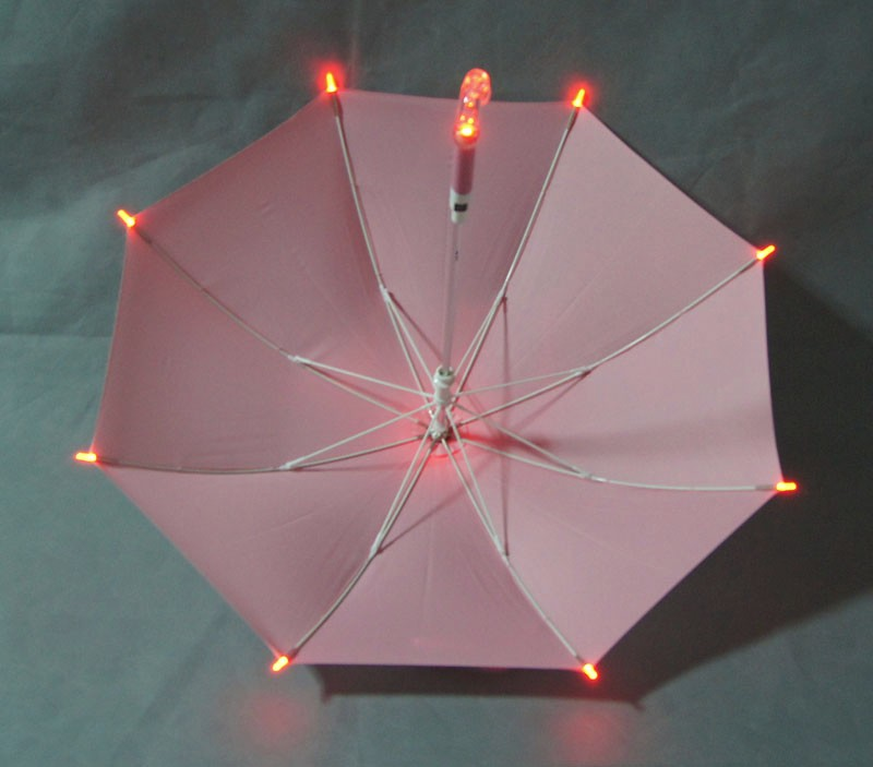 battery operated led lighted umbrella flashing light umbrella picture. Black Bedroom Furniture Sets. Home Design Ideas