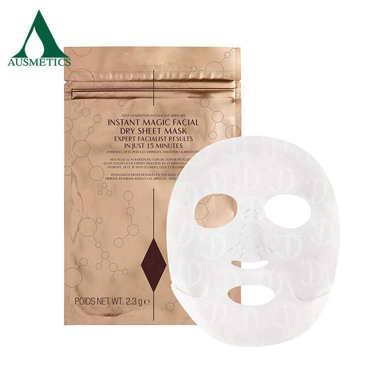 Best quality wholesale collagen crystal face sheet mask moisturizing facial mask sheet