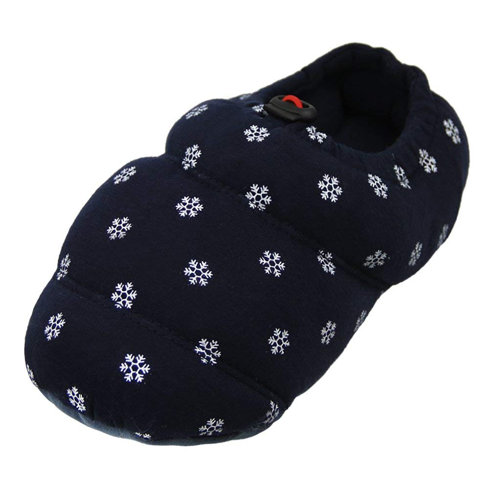 Women Men Home Slipper Warm Shoe Memory Foam Plush Indoor Outdoor Slipper Boot