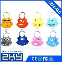 Personalized waterproof funny silicone disposable baby bib wholesale