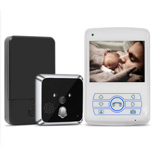 TL-E351A Hot sale smart IR surveillance Visual camera Video Doorbell with function of motion detection & unlocking