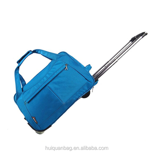 Men and women pull rod bag portable folding traveled duffel bag