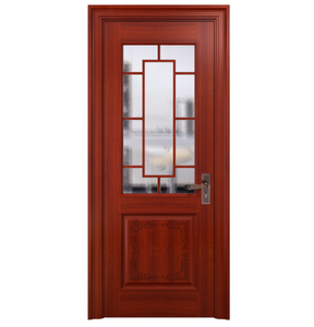 China cunston apartment interior fire rated wooden door