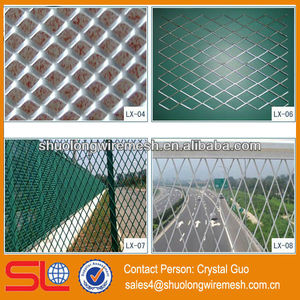 Expanded wire mesh fence,Punching mesh fening ,pvc perforated mesh sheet