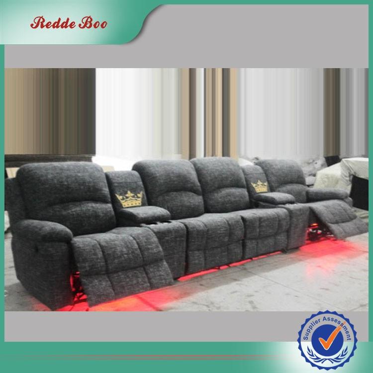 fabric LED 4 seater cinema recliner sofa & Fabric Led 4 Seater Cinema Recliner Sofa - Buy 4 Seater Sofa4 ... islam-shia.org