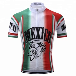International Mexico Sports Wear Quick-Dry Lightweight Bicycle Cycling Jersey
