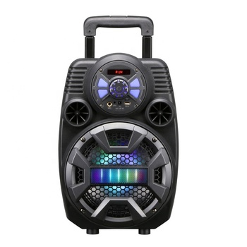 "8"" Portable Trolley Style Active Speaker With Rechargeable Battery X8 BT portable trolley speaker"