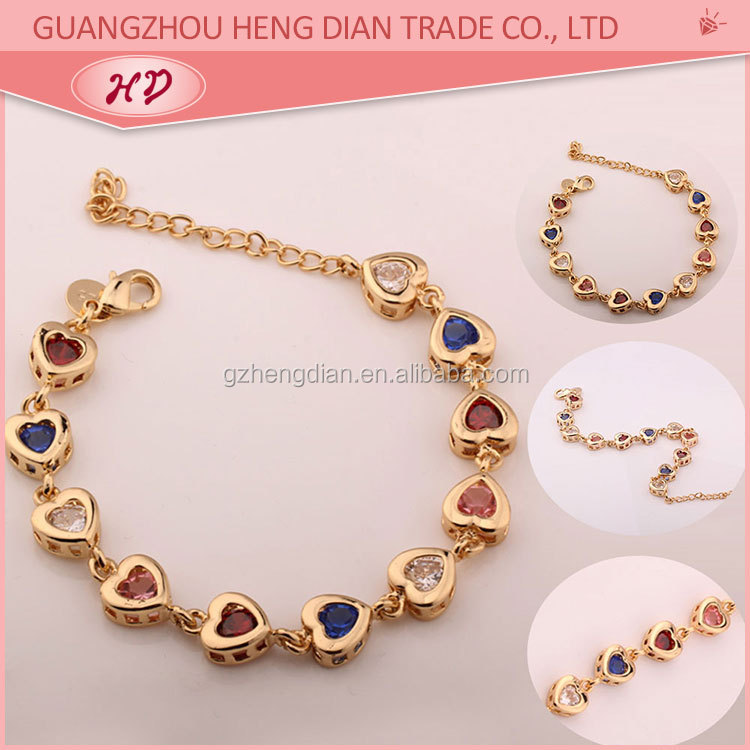 Latest new design indian new gold bracelet designs women for Heng kunthea jewelry shop