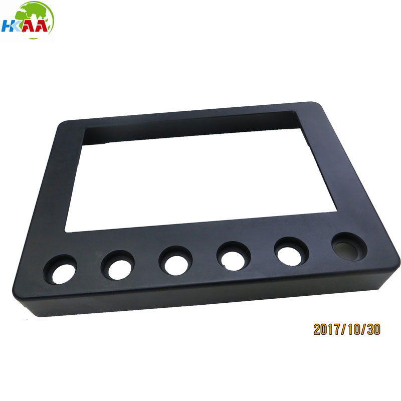 Precision aluminum extrusion and milling digital temperature control face plate for electronic devices