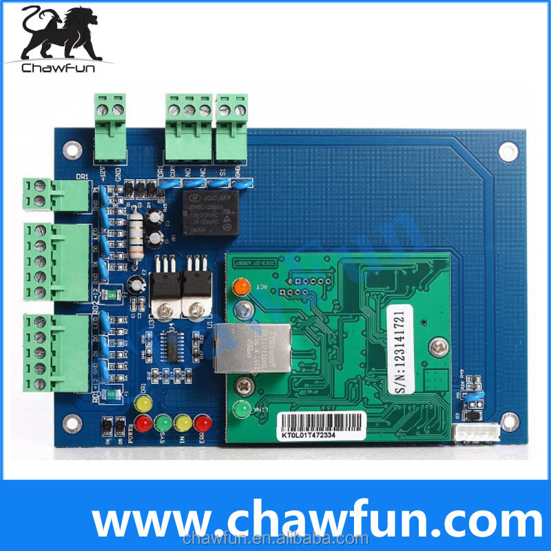 WAN TCP/IP Network Access Control Board for Multi Door Access Control