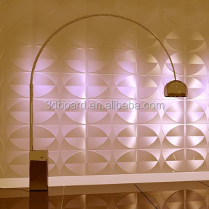 stage decoration backdrop design sample raw material 3d wall panel