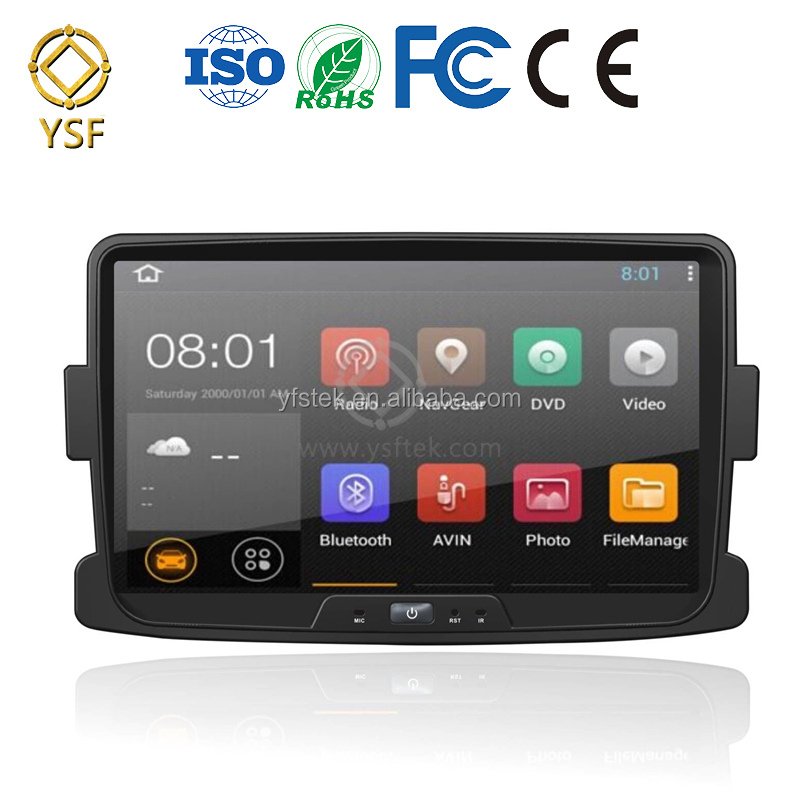 Android7.0 car gps navigator for RENAULT Dacia/Duster/Logan/Sandero DVD Player with 9'' big screen radio ipod bluetooth