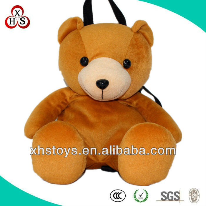 Promotional Fancy Factory Price Kids Customized Stuffed Plush Animal Backpacks