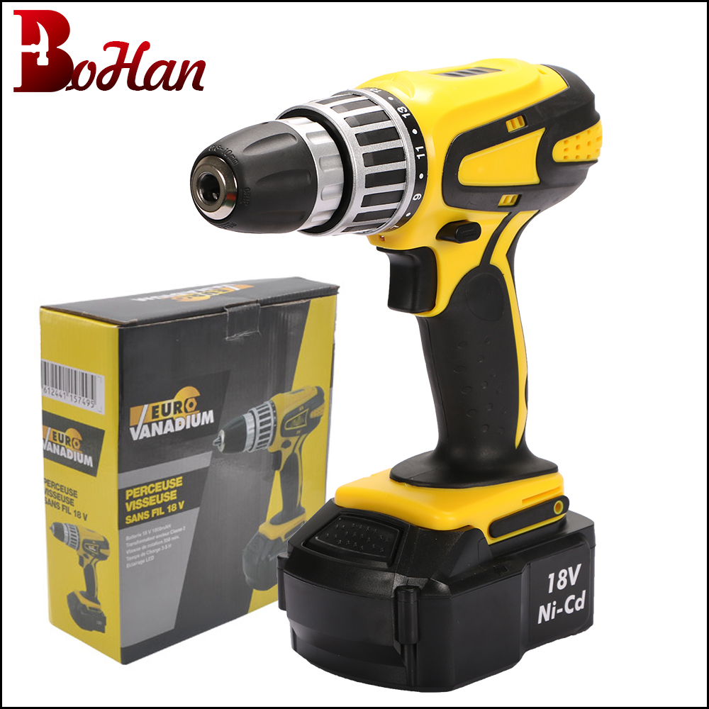 Good quality 18v wireless performer cordless drill