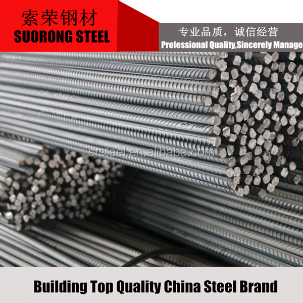 ASTM A615 grade40 60 rebar deformed steel bar with competitive price.