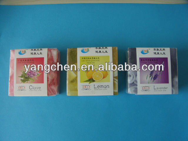 Yangchen transparent good hotel soap