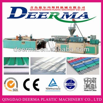 Pvc Corrugated Sheet Roofing Sheet Extrusion Line Buy