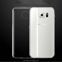 hot selling 1.3mm TPU Soft phone case for Samsung s6/s6 edge Transparent clear cover case