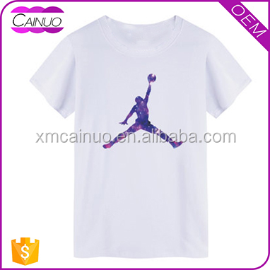 Cheap t-shirt custom design your own in China