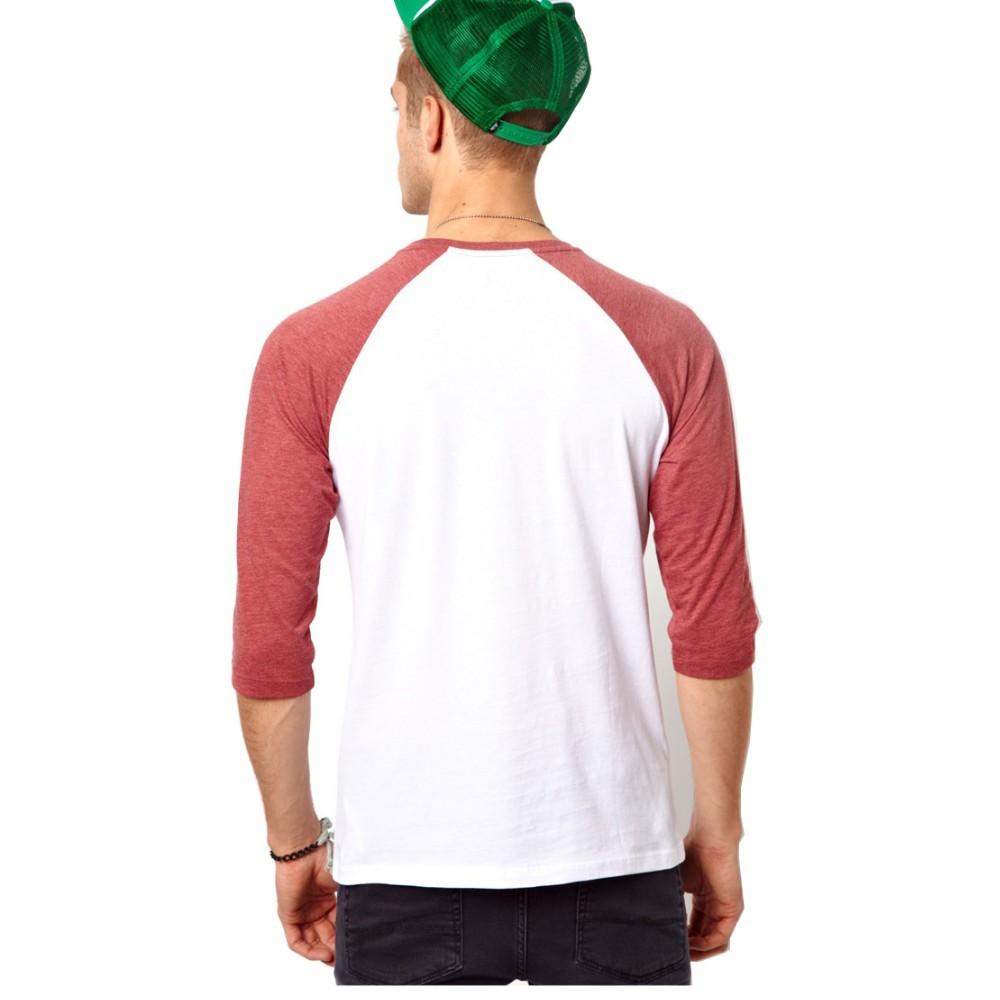 Desain t shirt raglan - Man Clothes Smooth Texture Wholesale Blank T Shirt Generous Raglan T Shirt Wholesale China