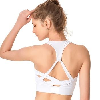 07c4ea92eea75 OEM Custom made running womens gym sexy quick dry yoga sports bra xxx sexy  image bra