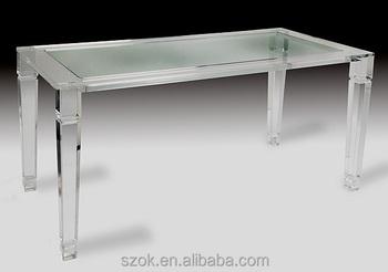 Groe Qualitt Plexiglas Acryl Tisch With Plexiglas Tisch